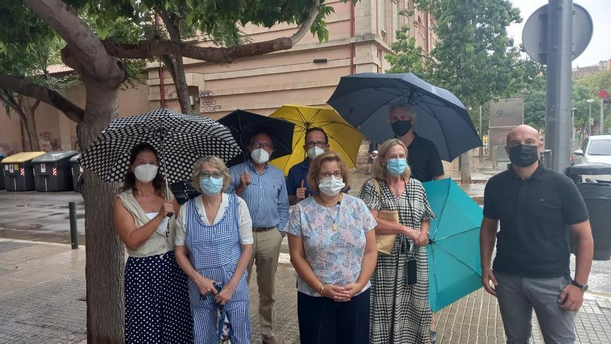 El PP exige actuar ante la degradación de la plaza del Tubo en Palma