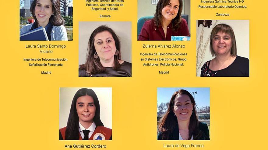 """""""Curieosas"""", un proyecto zamorano para visibilizar profesionales STEM"""