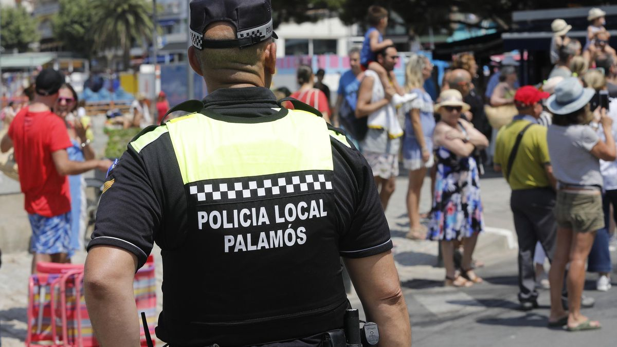 Imatge d'arxiu de la Policia Local de Palamós