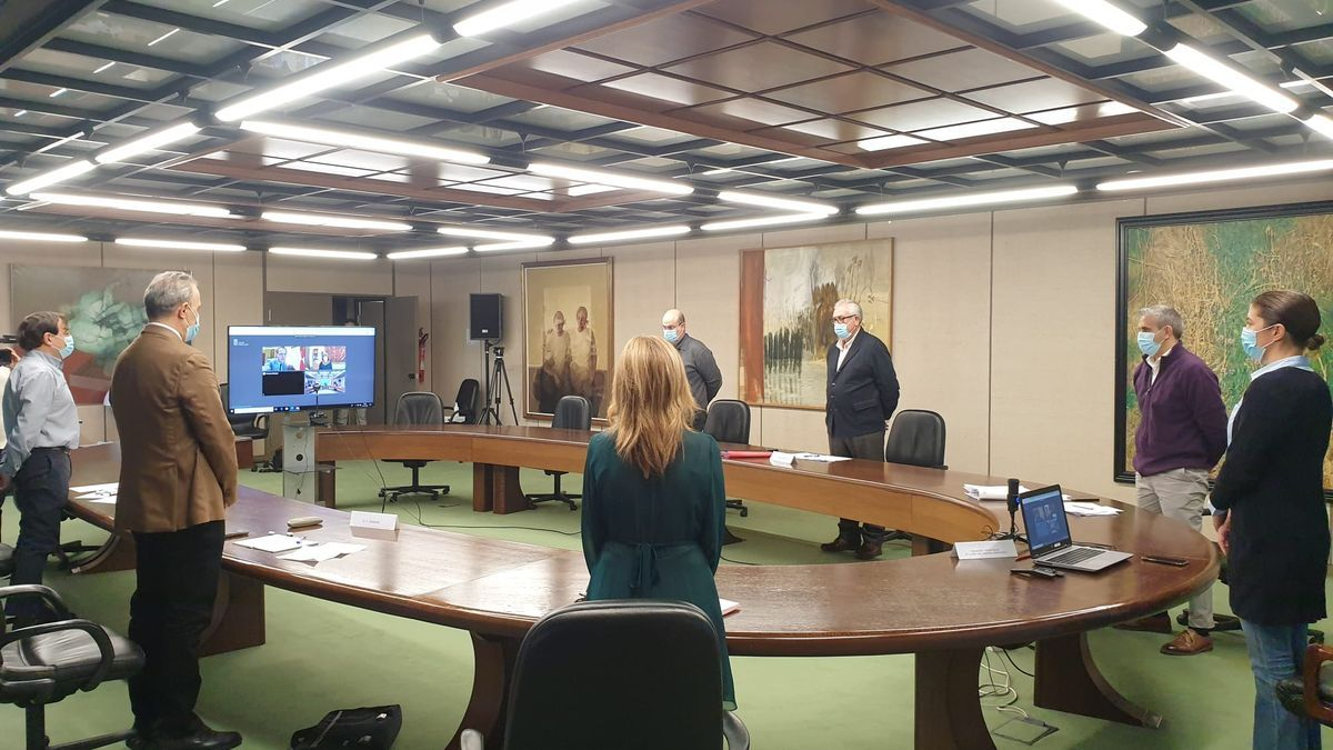 Minuto de silencio por Felisa Gallego en la reunión del CECOPI.