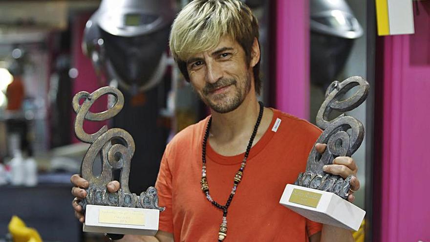 Moyano se alza con dos premios en el  «Revelación Nacional»