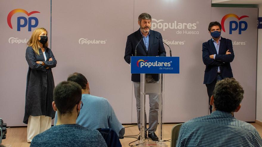 El PP pedirá 43 millones para subir la inversión en Huesca