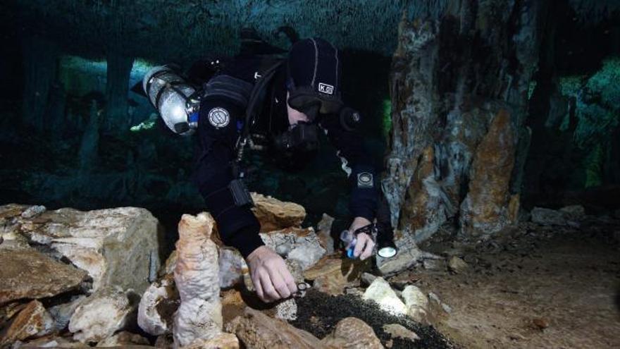 Hallada en México una mina de ocre con más de 10.000 años de antigüedad