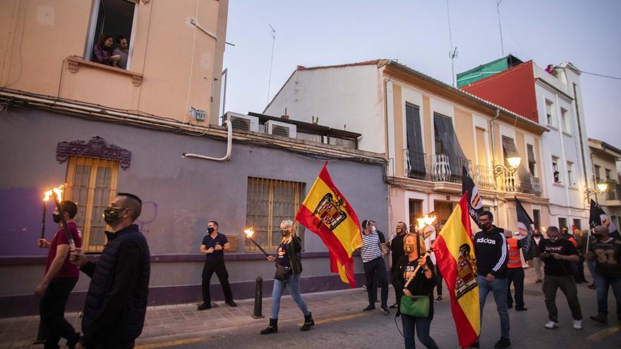 La Generalitat multa con 4.000 euros a dos manifestantes de la marcha ultra de Benimaclet