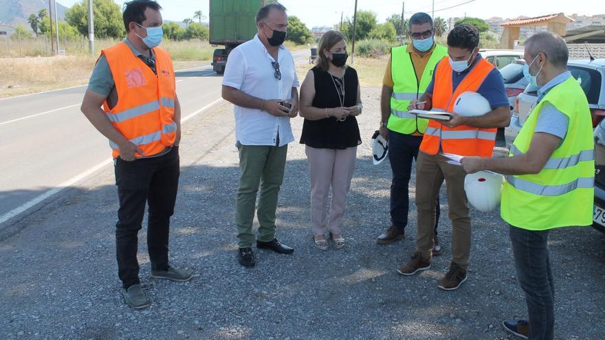 El camino Serradal de Benicàssim tendrá un carril para peatones accesible antes de septiembre