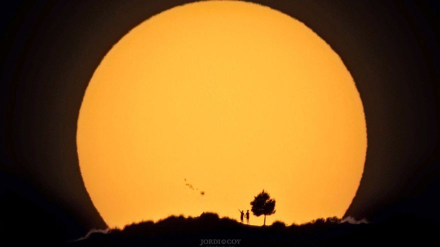 La Agencia Espacial Europea difunde una espectacular foto del Sol captada en Elda