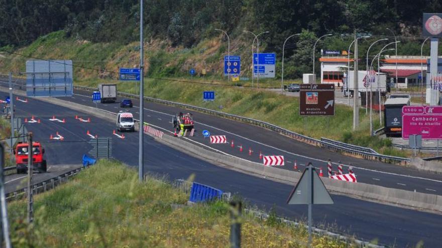 Tramos de hasta 30.000 coches diarios en la red de carreteras de O Salnés