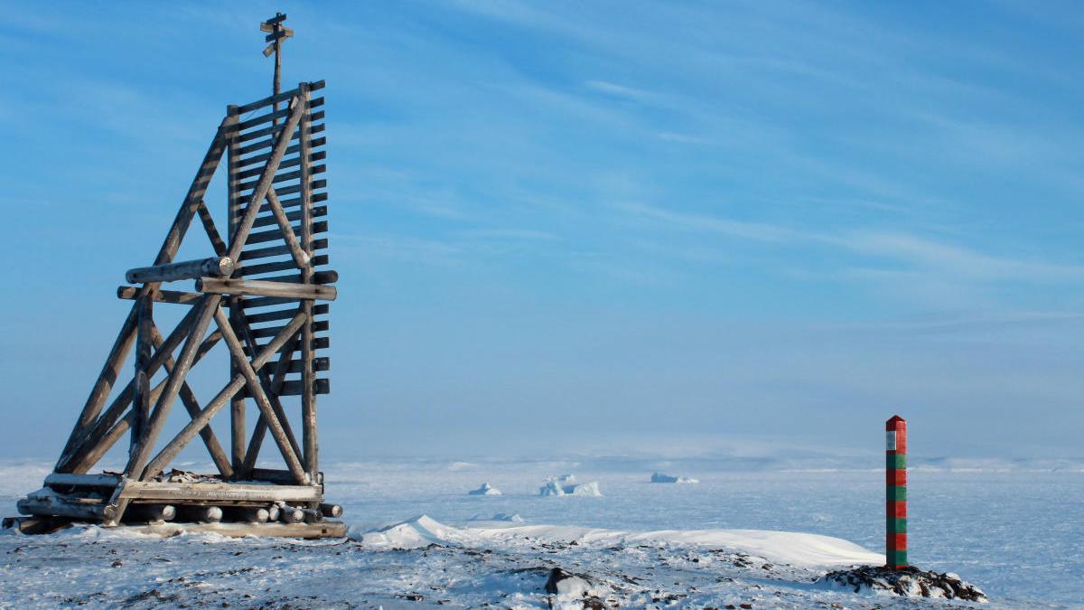 Una imagen del Ártico