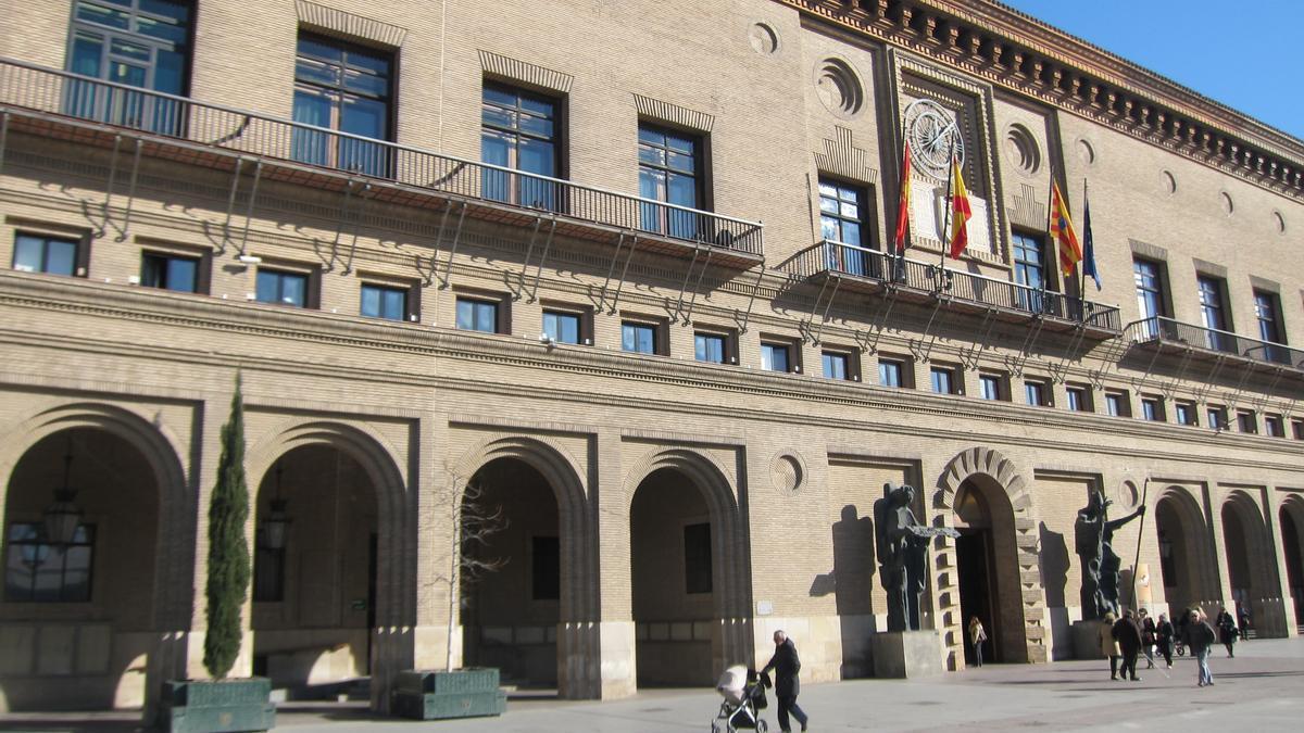 Sede del Ayuntamiento de Zaragoza.