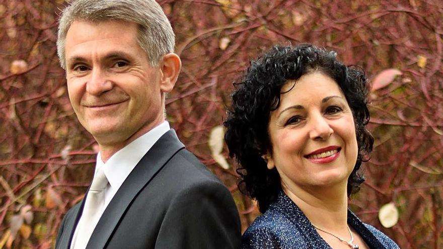 Recital de Calliope Duo a Sant Pere de Rodes