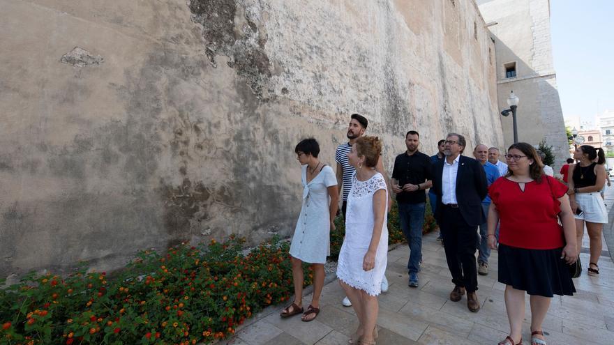 Diputación aportará 20.000 euros para salvar las pinturas fingidas de la iglesia arciprestal de Vinaròs
