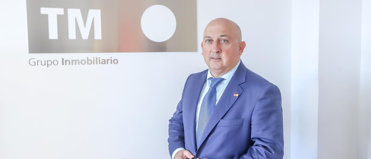 El consejero delegado de TM Grupo Inmobiliario, Pablo Serna.