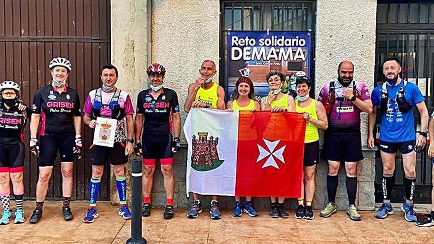 El Club de Running de Alagón  se suma a un nuevo reto solidario