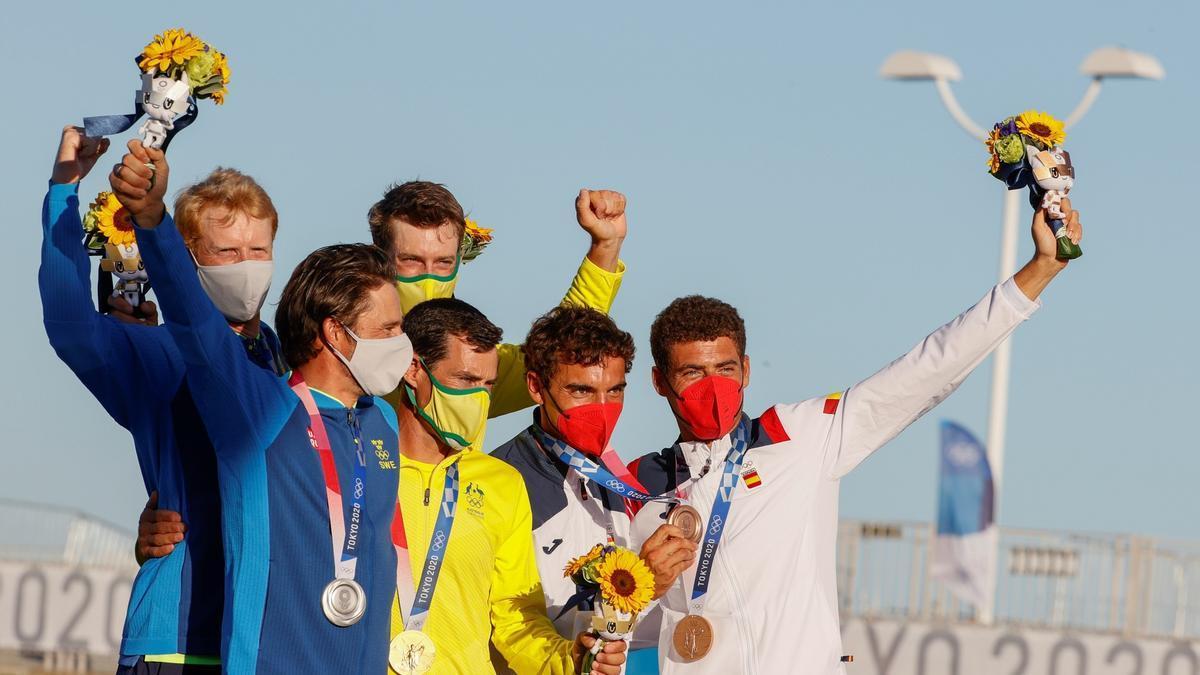 Jordi Xammar y Nicolás Rodríguez ganan el bronce en 470 de vela