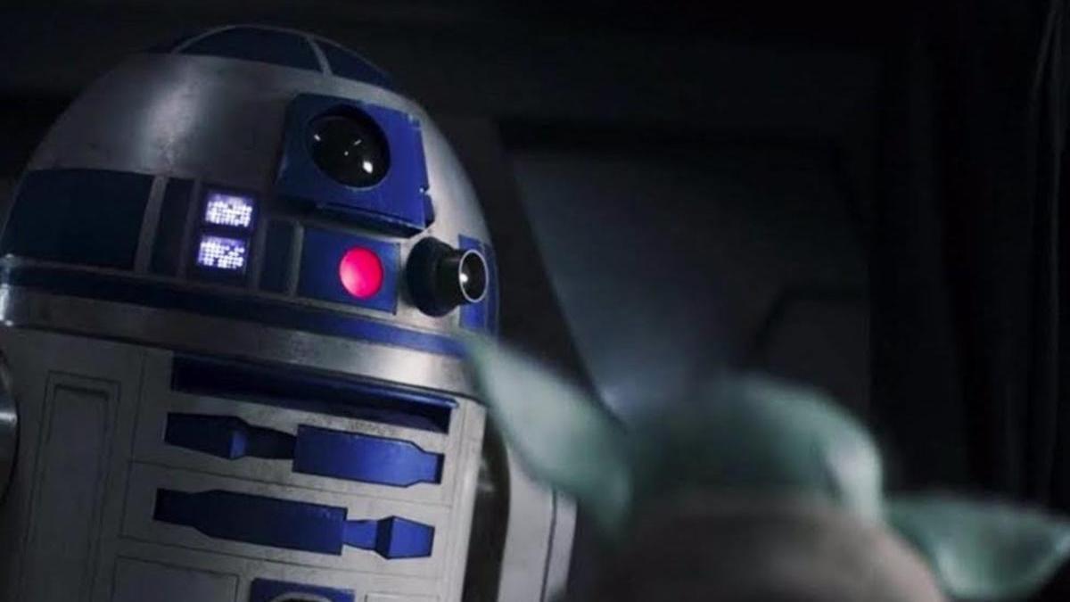 El encuentro de R2D2 y Baby Yoda en 'The Mandalorian'.