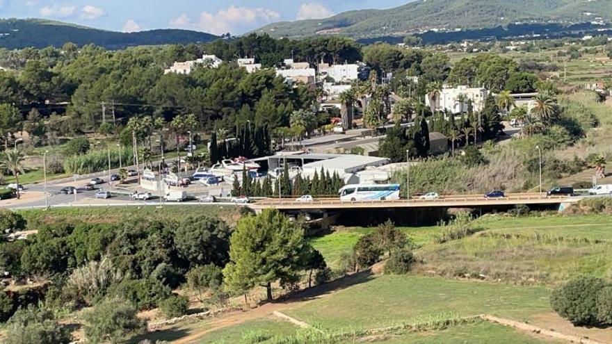 El Consell de Ibiza asegura que el tráfico será más fluido en Santa Eulària «la próxima semana»