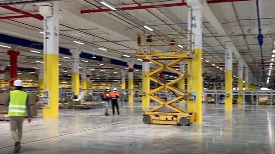 Así es el nuevo centro de Amazon en Murcia