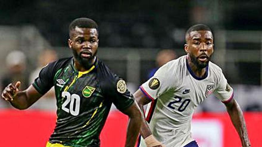 Shaquell Moore jugará las semifinales de la Copa Oro