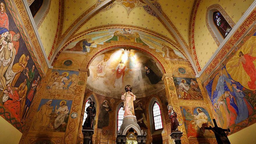 Los frescos de Espolita vencen las humedades
