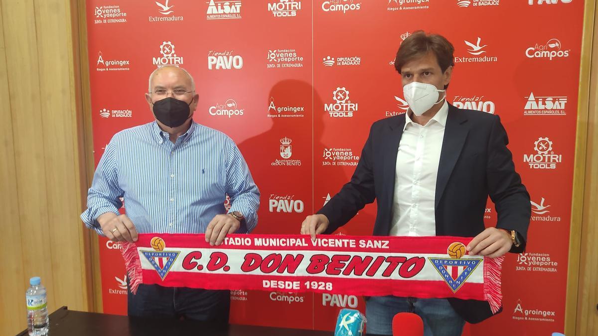 Manuel Velarde y Emilio Sosa.