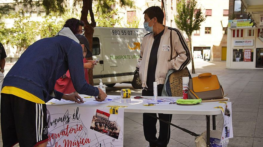Solo treinta alumnos se han matriculado en el Conservatorio de Zamora para este curso