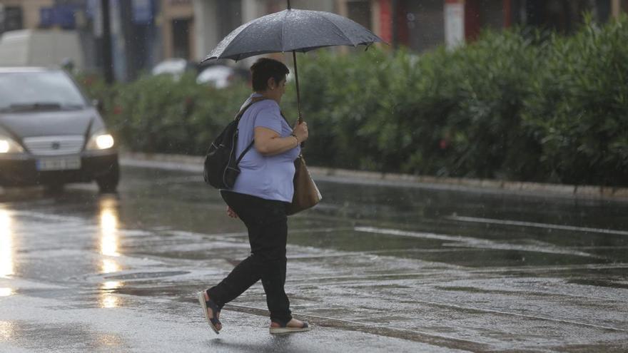 El lunes, probabilidad de chubascos y tormentas fuertes en la Región