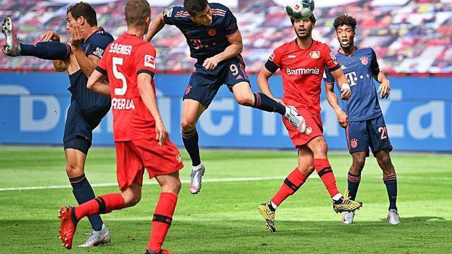 El Bayern sigue intratable hacia un nuevo título de Bundesliga