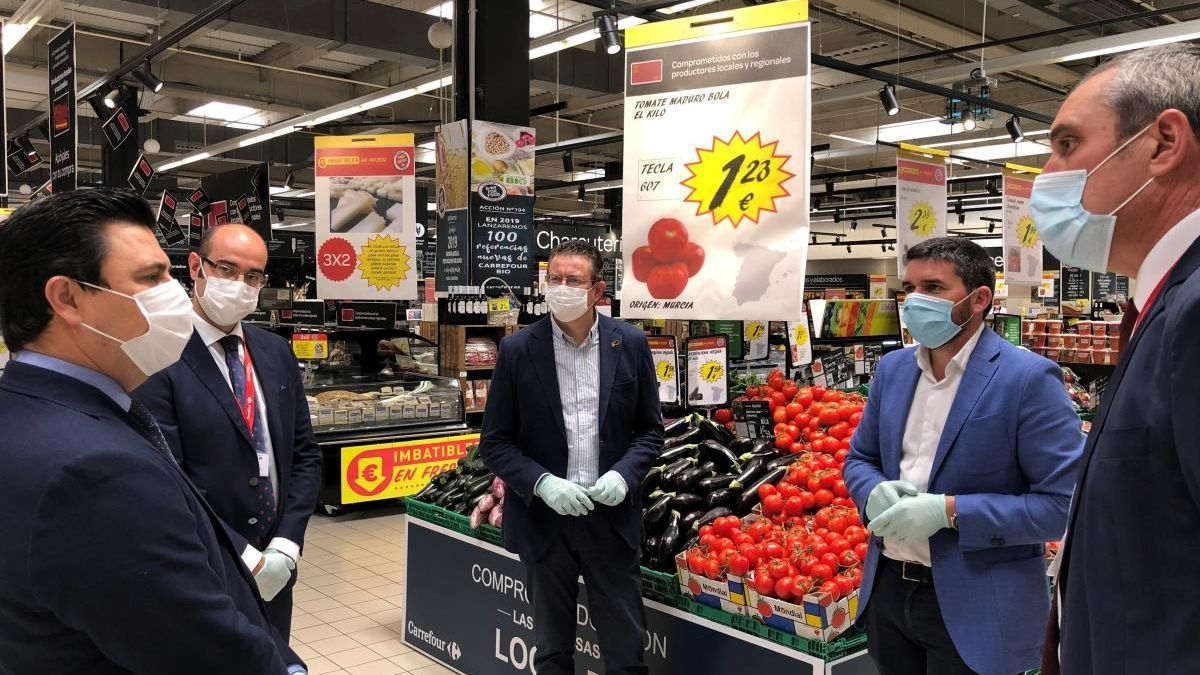 Carrefour promociona productos regionales en sus supermercados