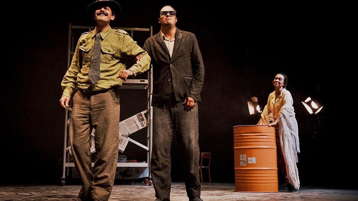 Una escena de la última apuesta de Delirium Teatro.