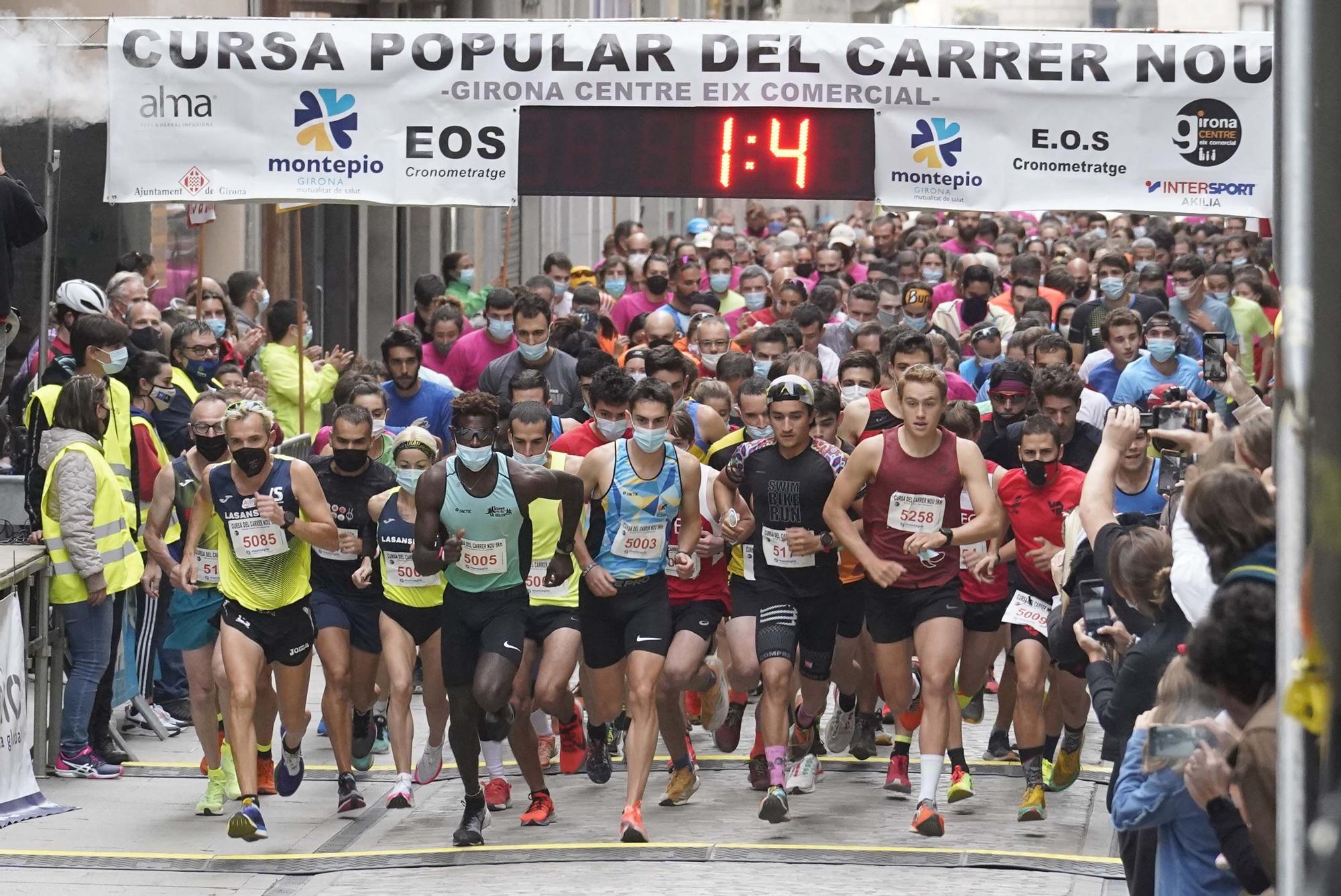 Cursa del Carrer Nou de Girona 2021