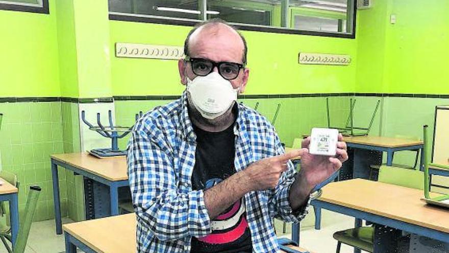 """""""No actuar sobre la calidad del aire en las clases con la variante delta me parece una temeridad"""""""