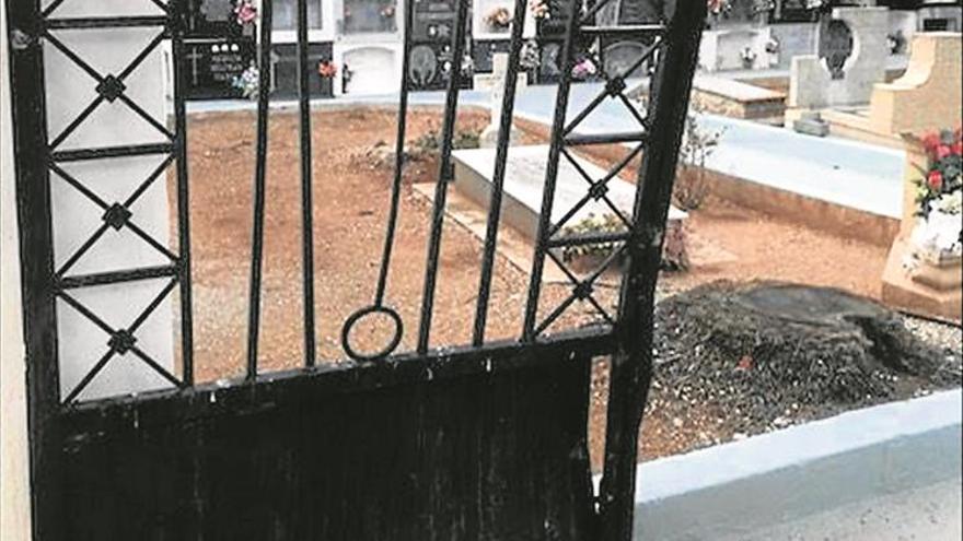 Detenido el varón que hacía rallys en el cementerio de Santa Magdalena