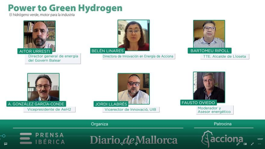 """El hidrógeno verde en Mallorca, """"un proyecto ilusionante y sostenible"""" hacia las energías renovables"""