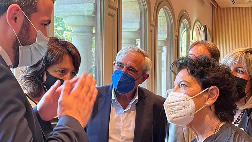 L'alcalde de Súria participa en una trobada amb la ministra d'Educació