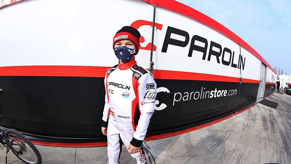 Christian Costoya tiene en su mano hacerse este fin de semana con su primer título en Italia.  