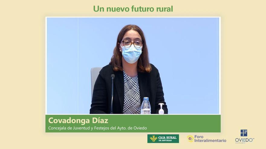 """Covadonga Díaz: """"La falta de competencias y de recursos impidan al ayuntamiento ovetense poner en marcha más iniciativas en el medio rural del municipio"""""""