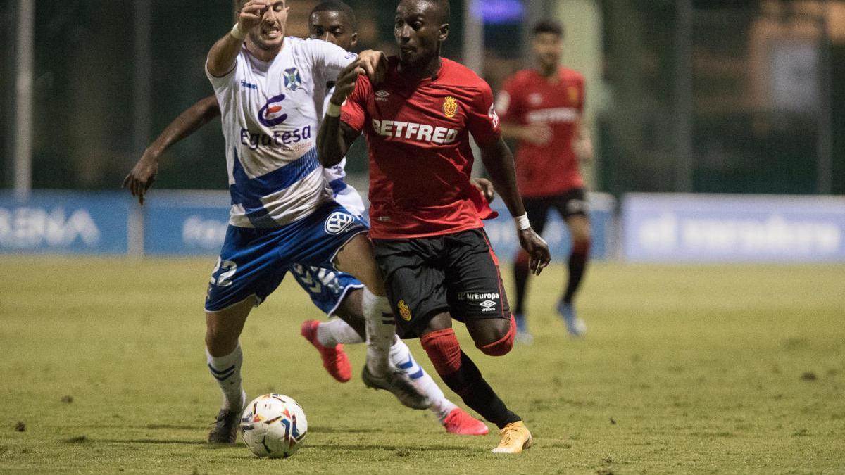 Primera derrota del Tenerife, que solo es inferior en pegada