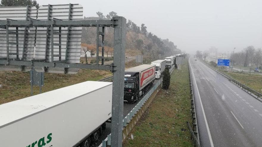 Trànsit aixeca la restricció de circulació dels camions a l'AP-7, AP-2 i C-32