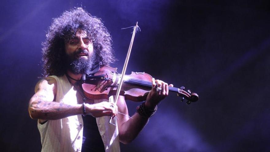 El violinista Ara Malikian dará un concierto en el Coliseum el 28 de marzo