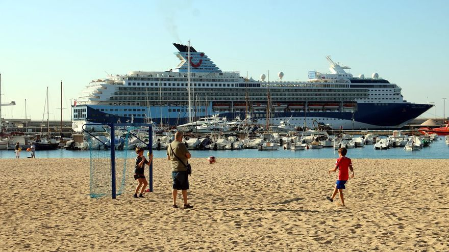 Els creuers tornen al port de Palamós després de l'aturada d'un any i mig per la pandèmia