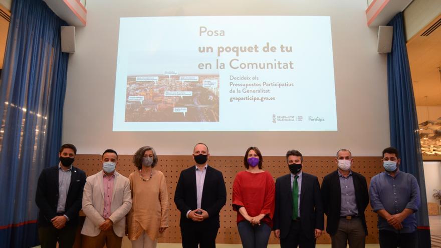 La provincia recibirá cerca de 30 millones con los presupuestos participativos de la Generalitat