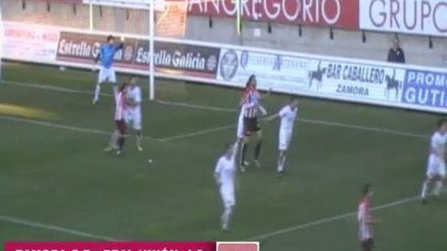 Zamora CF - Real Unión (1-0)