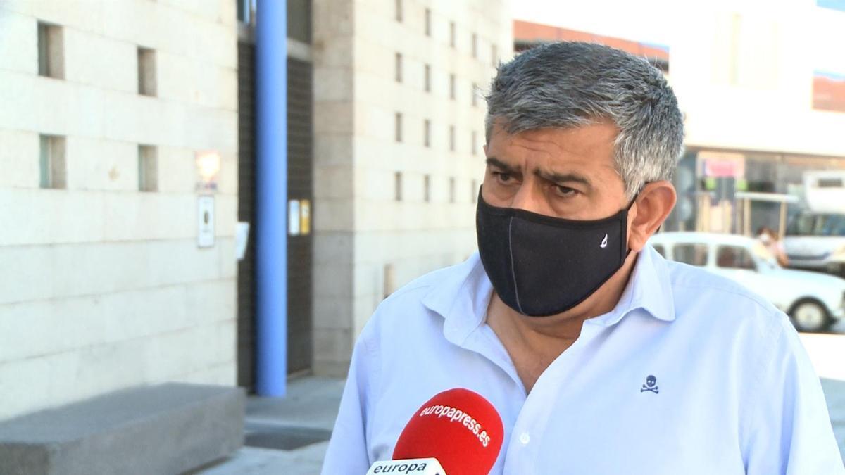 El alcalde de Miajadas, Antonio Díaz.