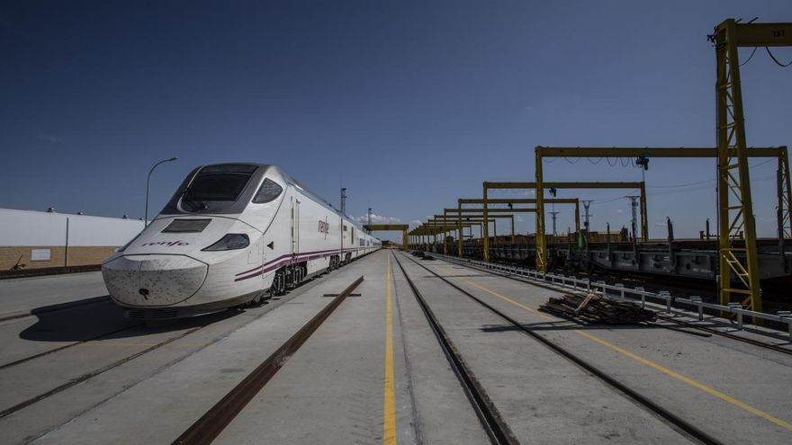 ADIF adjudica los trabajos de tratamiento de carril en el tramo Pedralba de la Pradería y Ourense