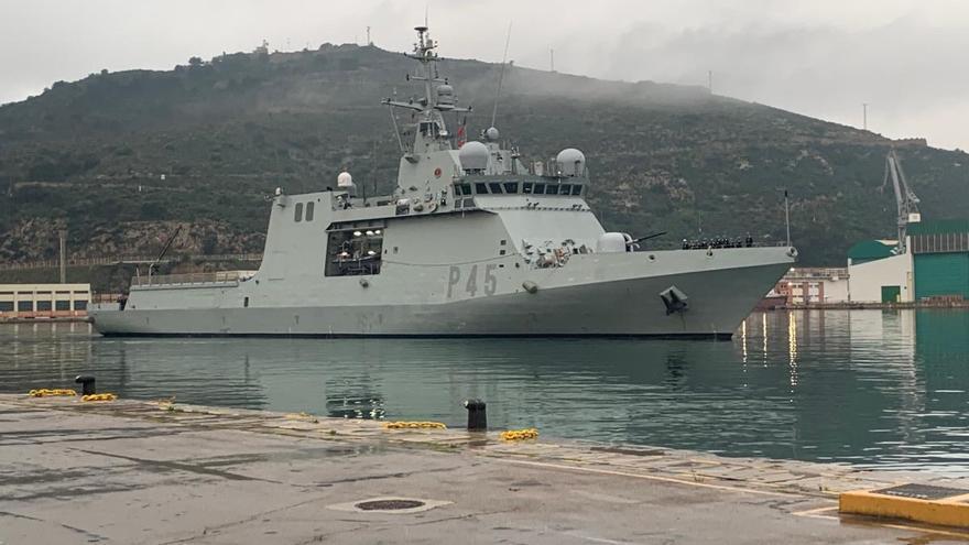 El Buque de Acción Marítima 'Audaz' finaliza su Despliegue Africano