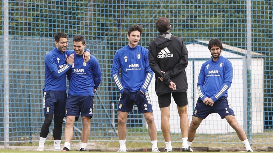 Un recorrido asequible: El Oviedo, que está a 7 de los 50 puntos que se toman como referencia para salvarse, se mide a tres equipos sin objetivos