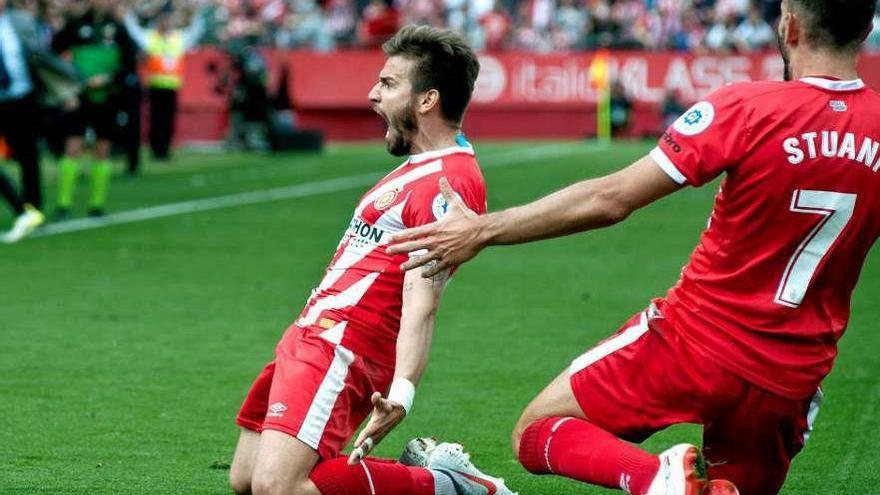 El Girona recupera el latido