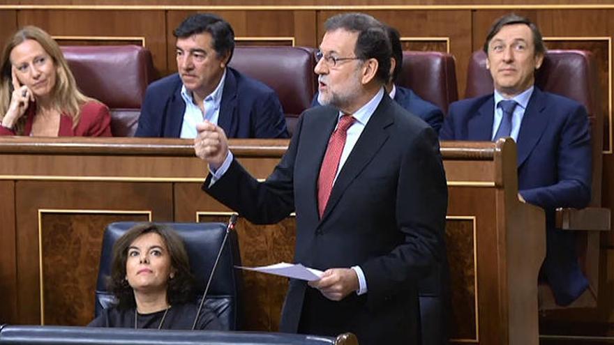 """Rajoy acusa a Iglesias de corrupción """"democrática"""""""