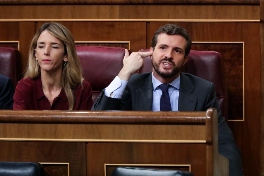 Segunda sesión del debate de investidura del ...