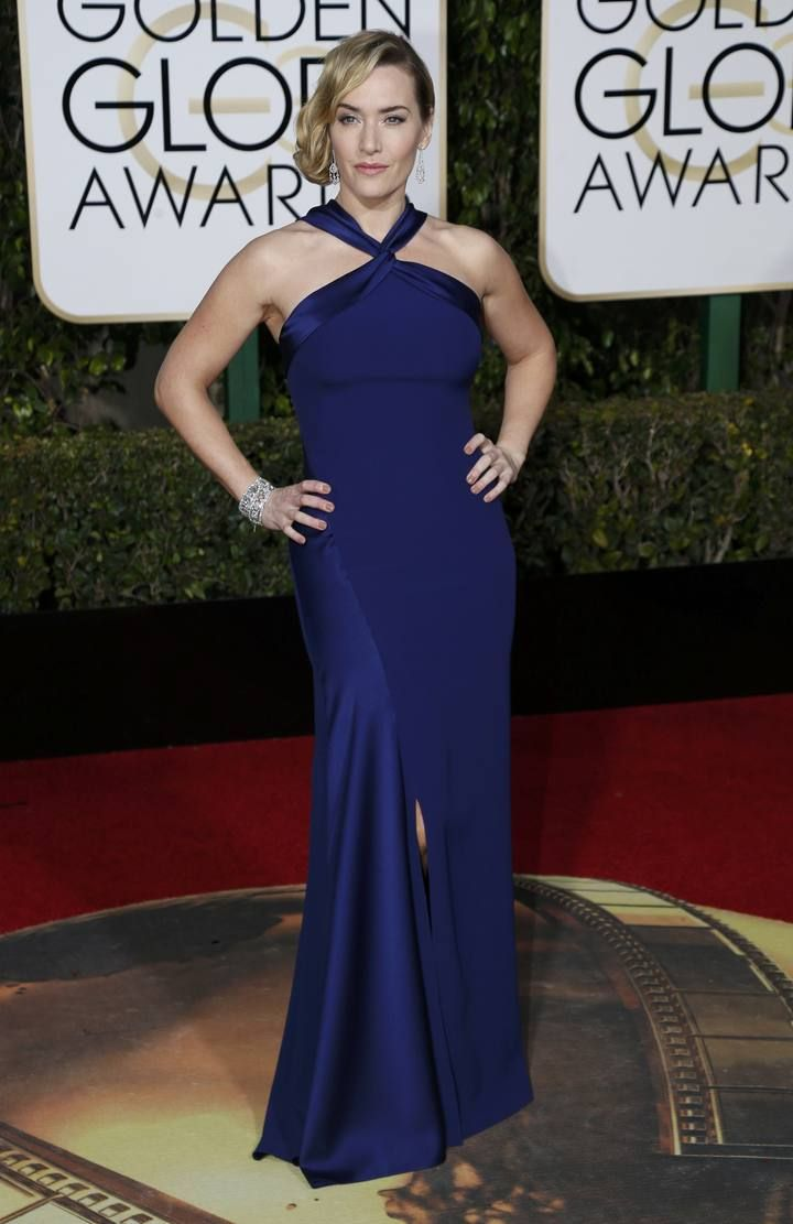 Actress Kate Winslett arrives at the 73rd Golden Globe Awards in Beverly Hills